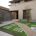 緑化舗装材
